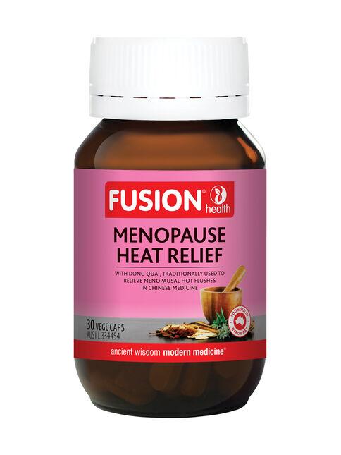 Menopause Heat Relief 30 Vege Capsules