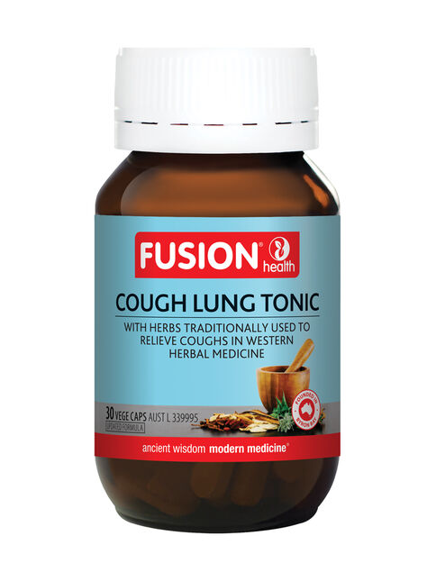 Cough Lung Tonic 30 Vege Capsules