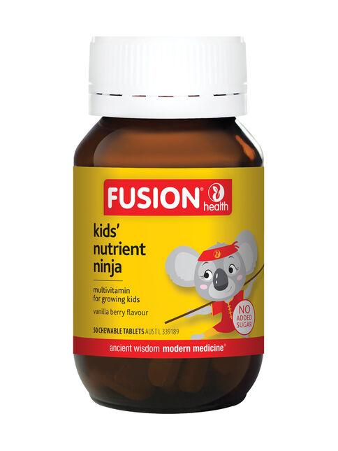 Kids' Nutrient Ninja 50 Chewable Tablets