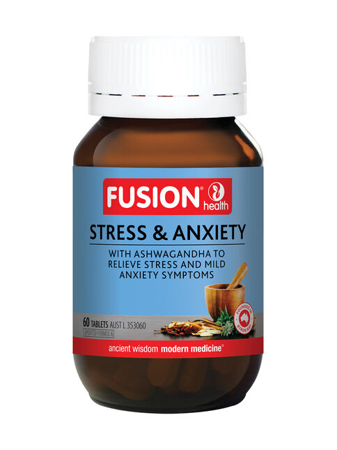 Stress & Anxiety 60 Tablets