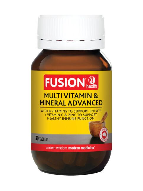 Multi Vitamin & Mineral Advanced 30 Tablets